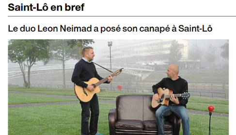 LEON NEIMAD : Ouest-France