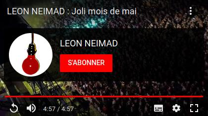 LEON NEIMAD : Chaîne Youtube