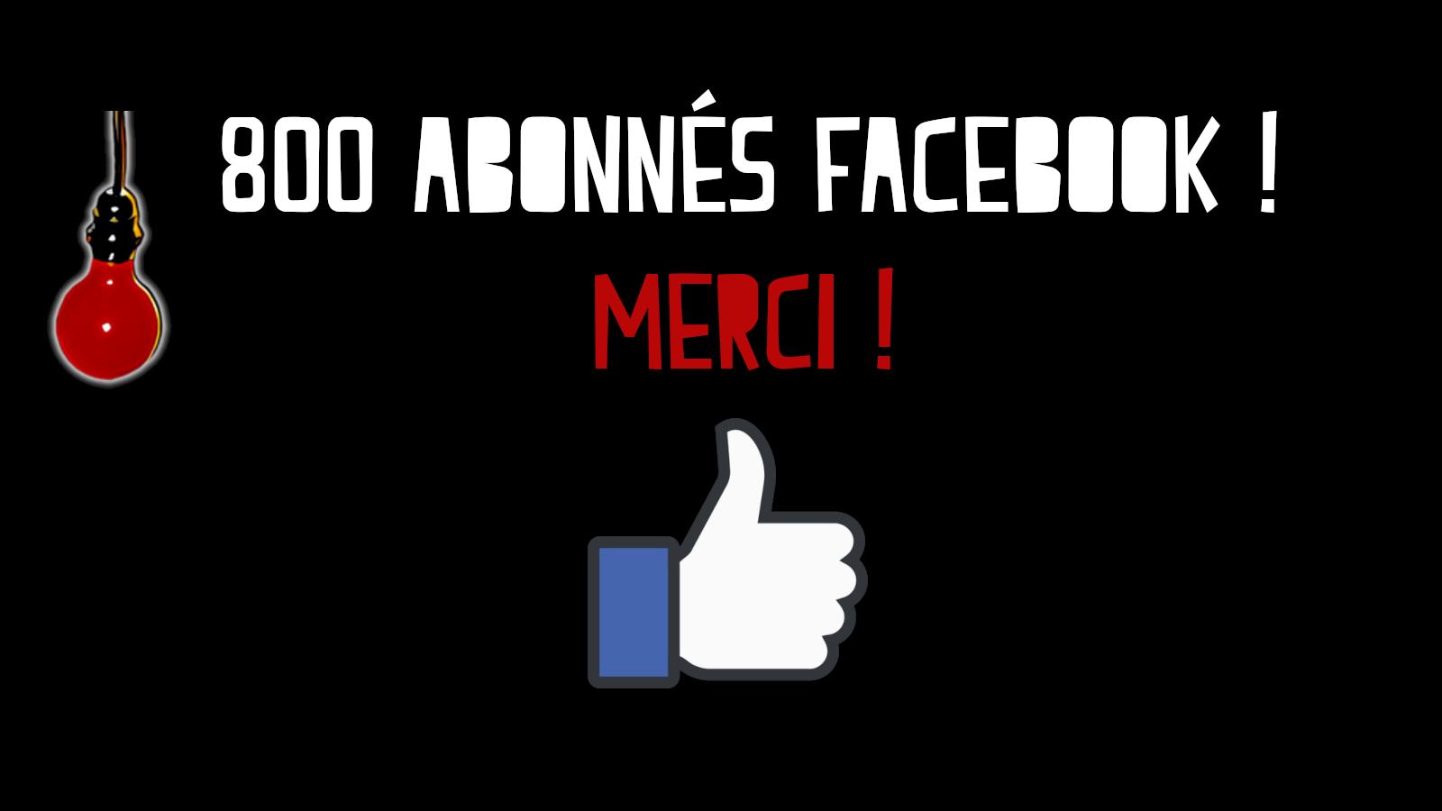 LEON NEIMAD : 800 abonnés Facebook !