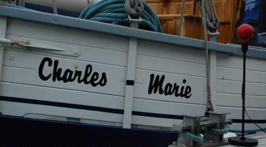à bord du Charles-Marie
