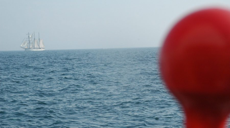 Chausey et cette vue sur la Mer