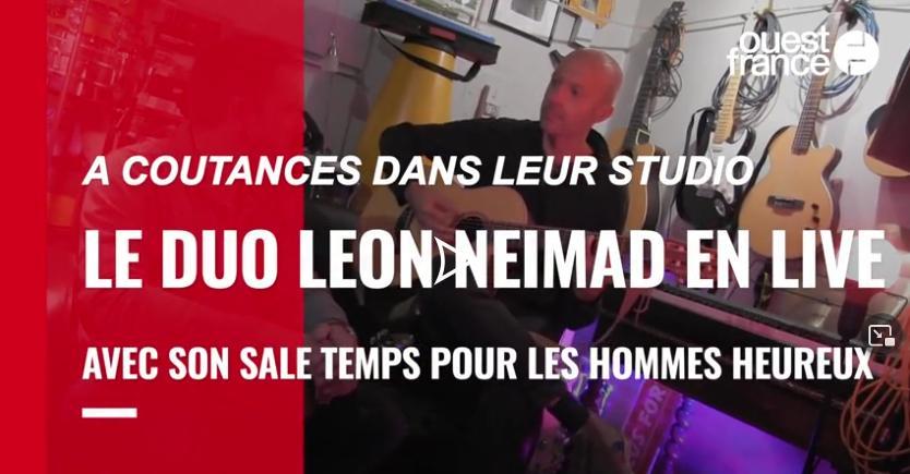 LEON NEIMAD en Live avec Ouest-France